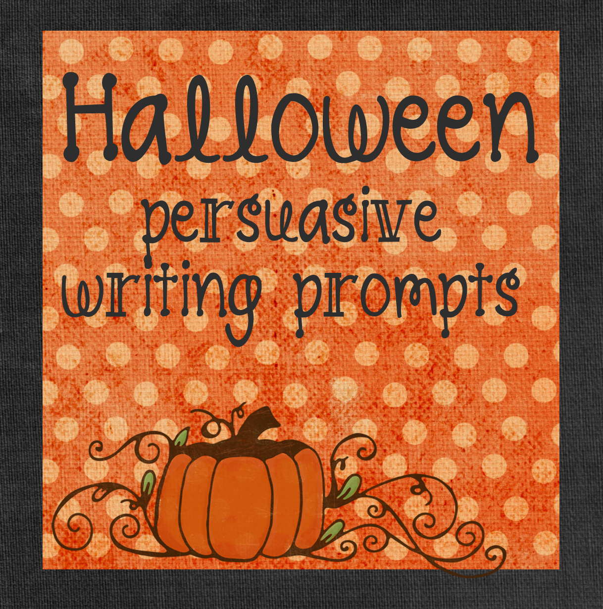 Printable Halloween Writing Prompts