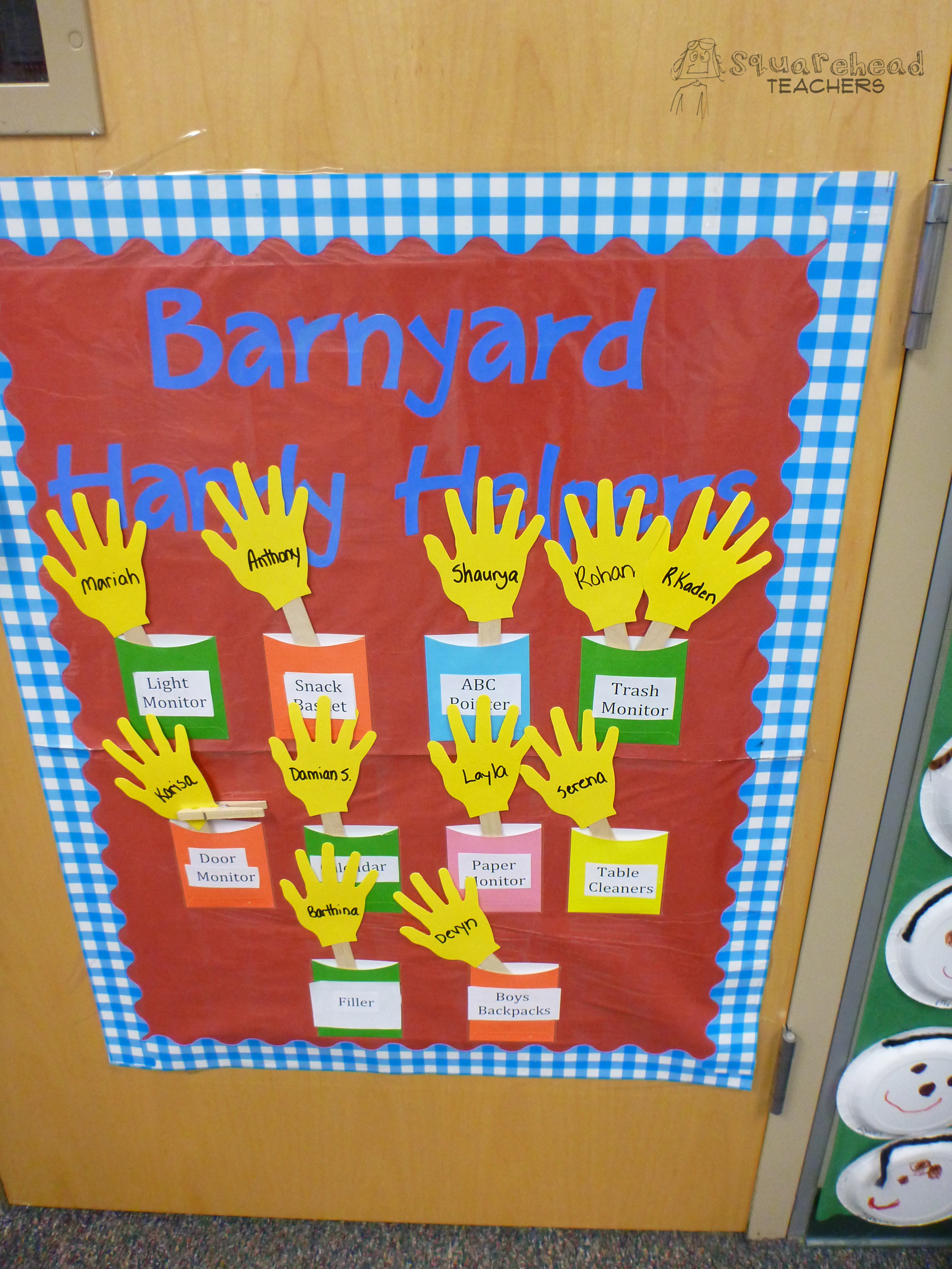 Classroom Job Ideas For Kindergarten : Classroom jobs squarehead teachers