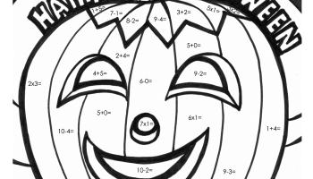 Halloween Math Worksheets Free  halloween math worksheets free