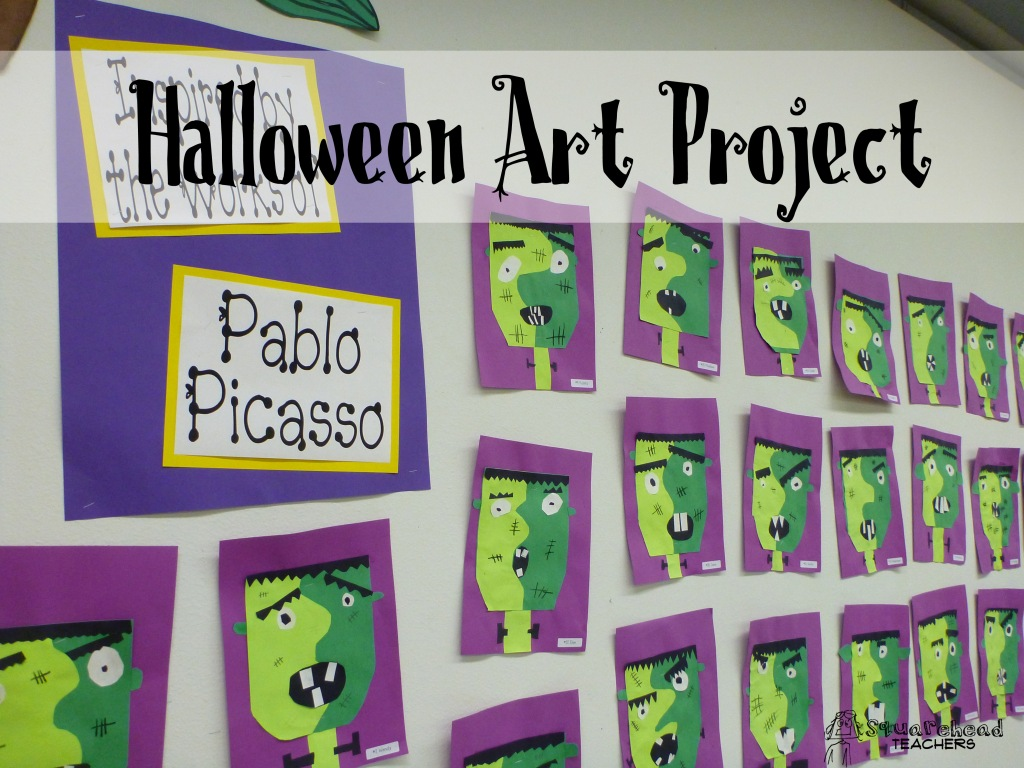 Halloween Art Project: Picasso's Frankenstein