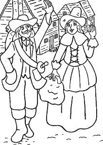 My Pilgrim Friends: Thanksgiving Character Description