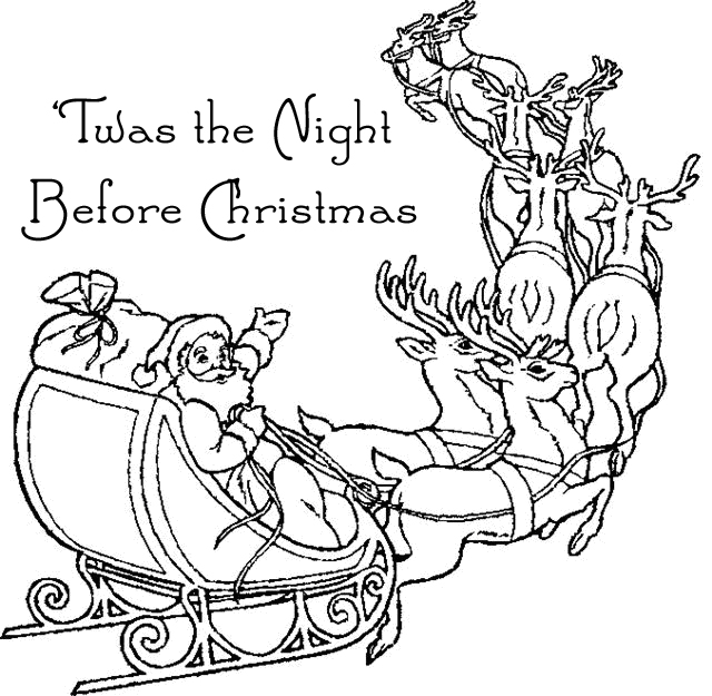 Twas the Night Before Christmas Grammar Practice Book (Upper ...