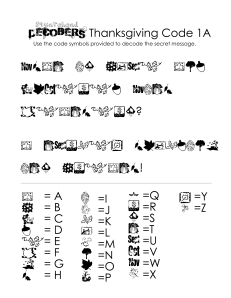 Thanksgiving Decoding Worksheets (free!)