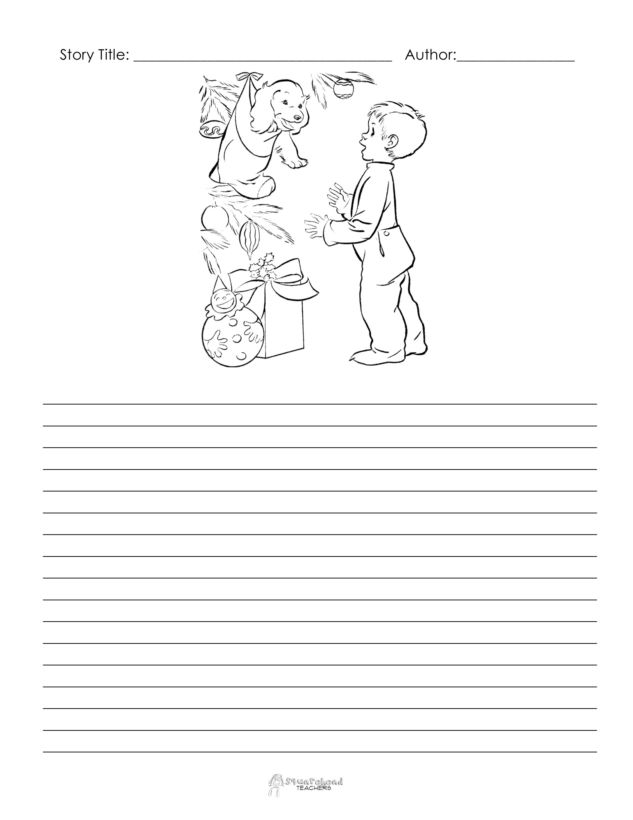 story starters 3rd grade