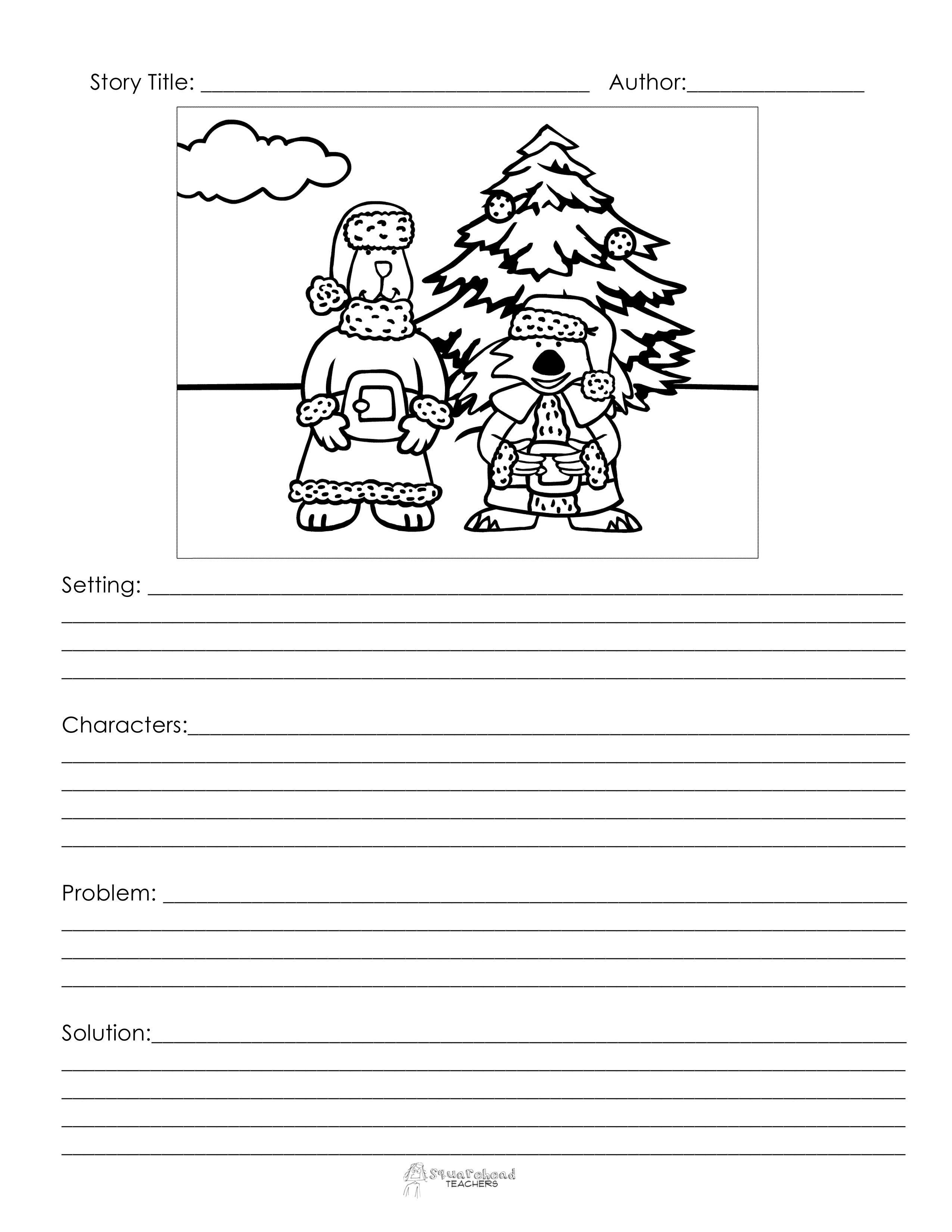 Christmas story starter 3 squarehead teachers for Story starter com