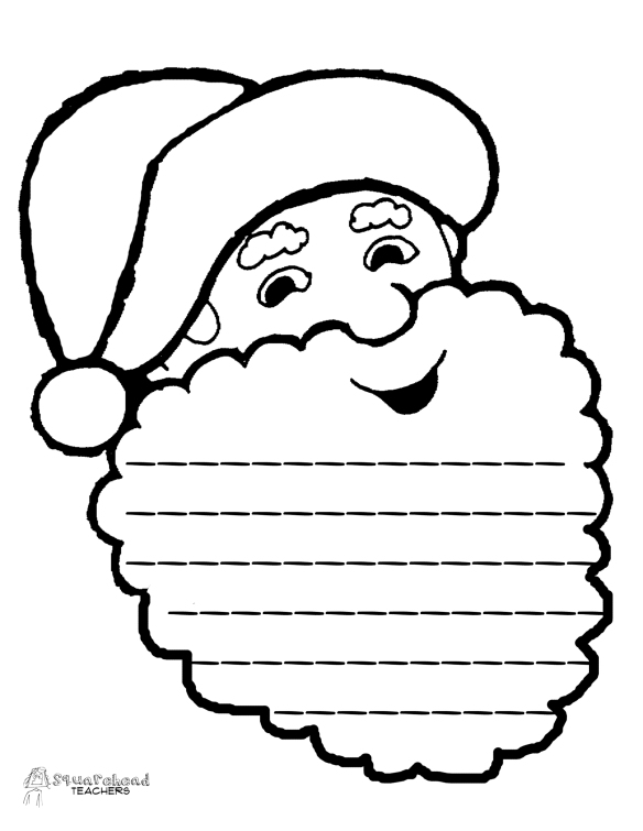 Santa Informative Paragraph- final draft page