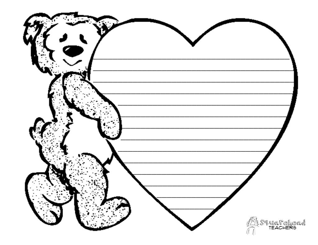Valentine S Day Informative Writing Activity Squarehead