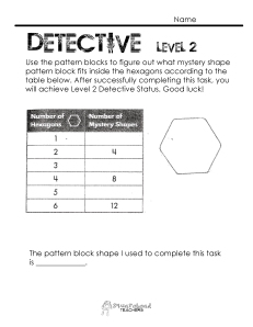 Number Pattern Detective- level 2