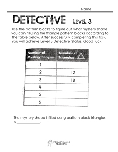 Number Pattern Detective- level 3