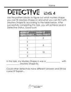 Number Pattern Detective- level 4