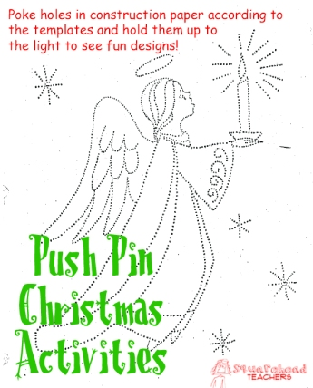 Push Pin Christmas activities1 STICKER