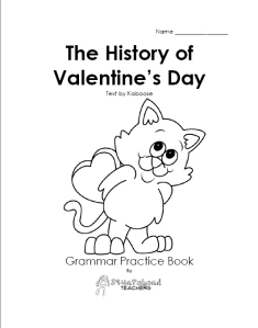 V-Day grammar book picture