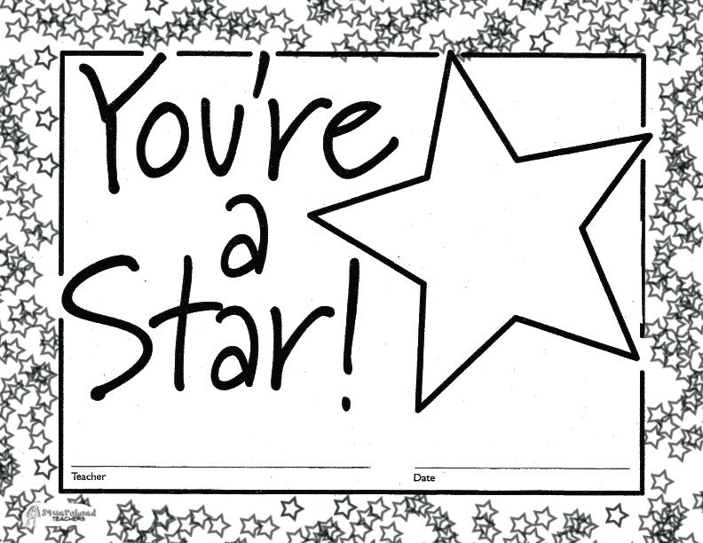 star certificates templates