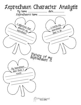 Leprechaun character analysis