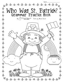 st. patrick's day grammar book cover