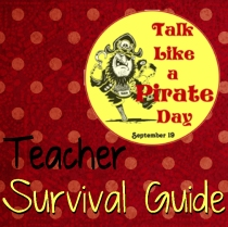 Talk Like A Pirate Day sticker