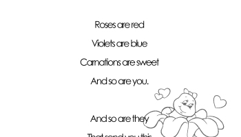 Valentines Day Grammar free worksheet for 3rd grade and up