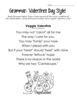 V-Day Grammar- poem 3