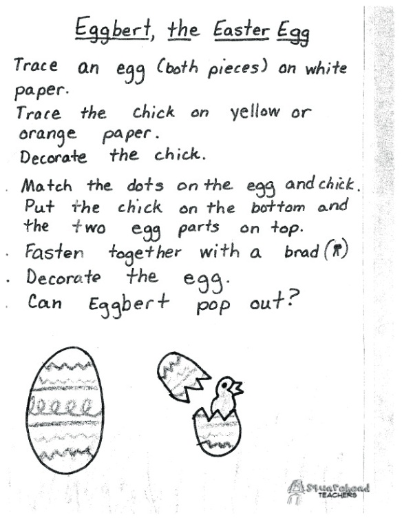 Eggbert the Easter egg cut out center1 copy