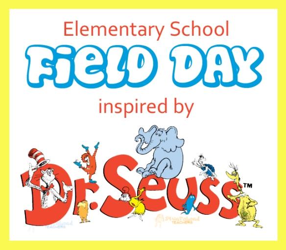 field day- Dr. Seuss