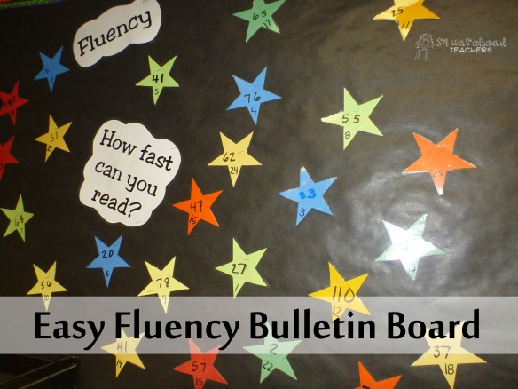 fluency bulletin board