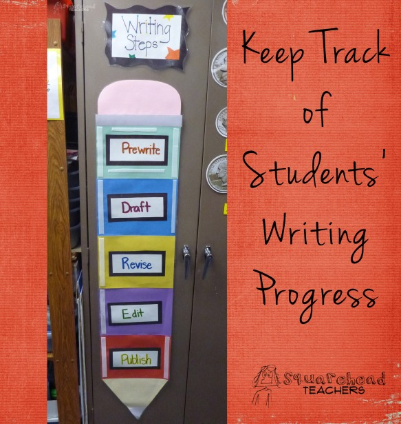 keep track of student writing