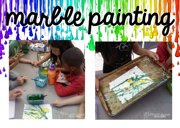 marble painting