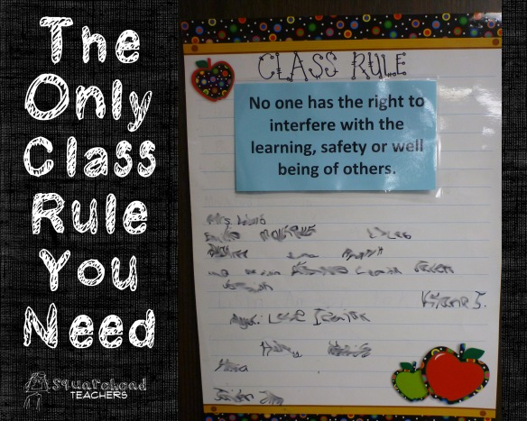 Only class rule you need