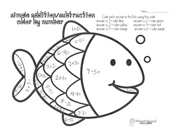 Halloween Math Fact Coloring Page Squarehead Teachers