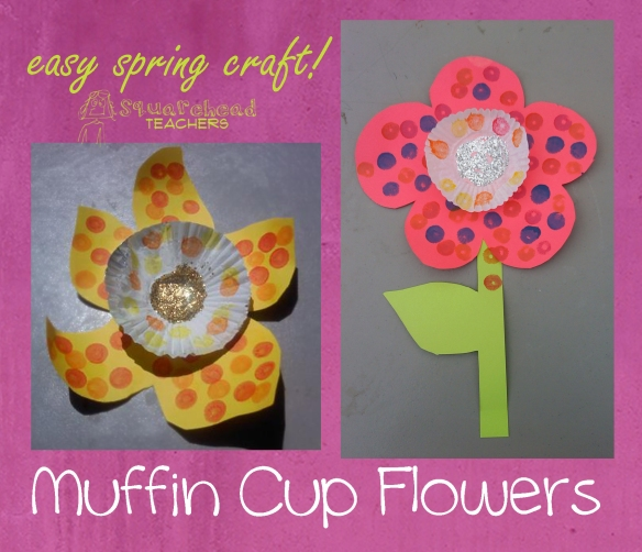 muffin cup flowers copy