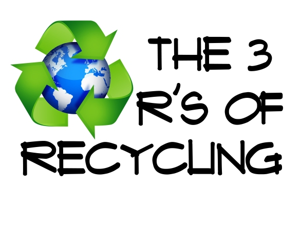 recycle- word strip header