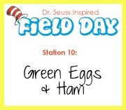 Station 10- Green Eggs and Ham