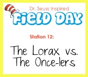 Station 12- The Lorax vs the Once-lers