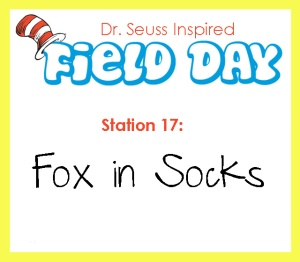Station 17- Fox in Socks