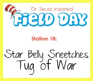 Station 18- Star Belly Sneetches Tug Of War