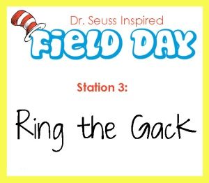 station 3- ring the gack