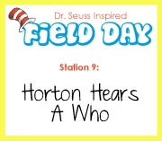 Station 9- Horton Hears A Who