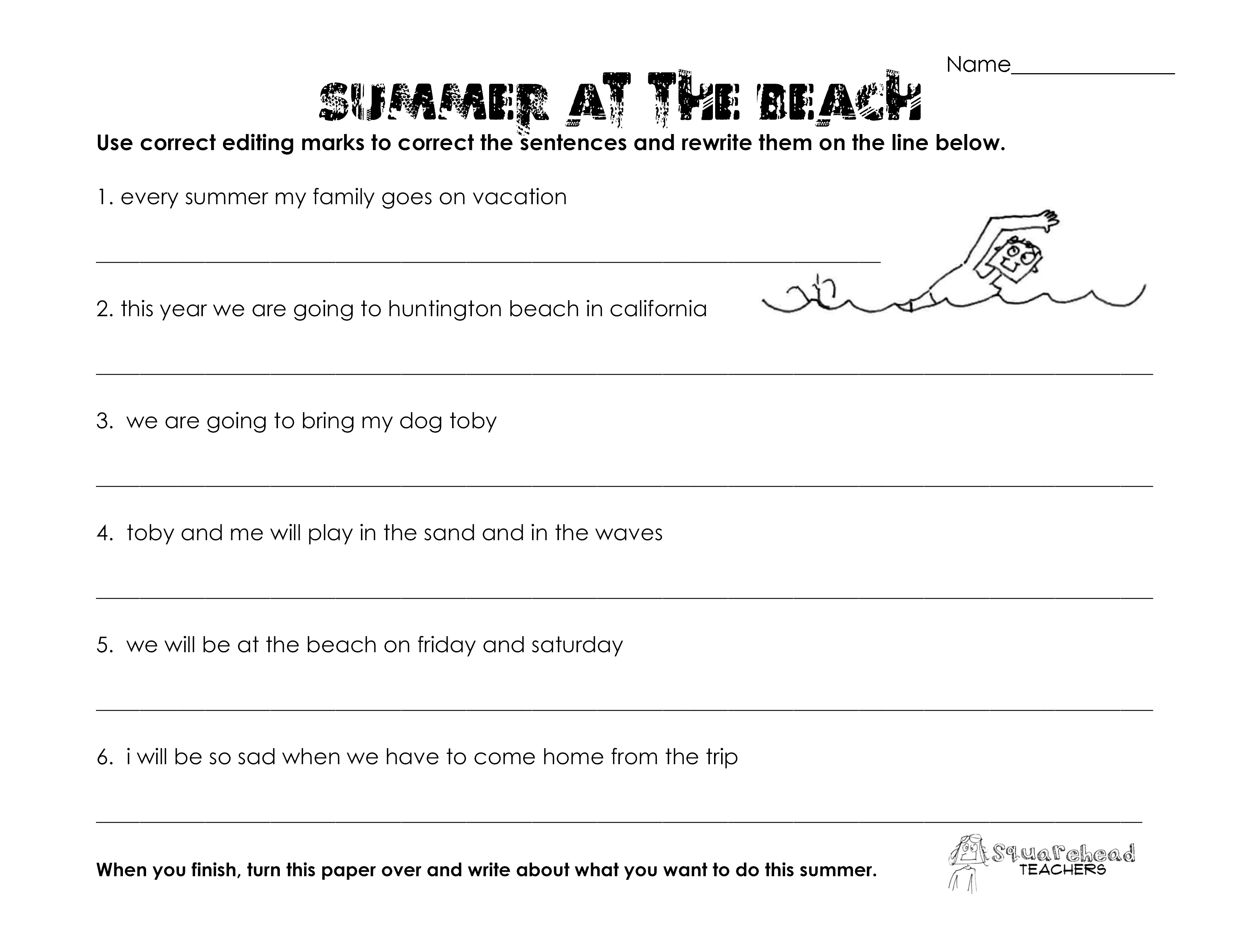 Grammar Worksheets 7Th Grade Free Worksheets Library – P90x Back and Biceps Worksheet