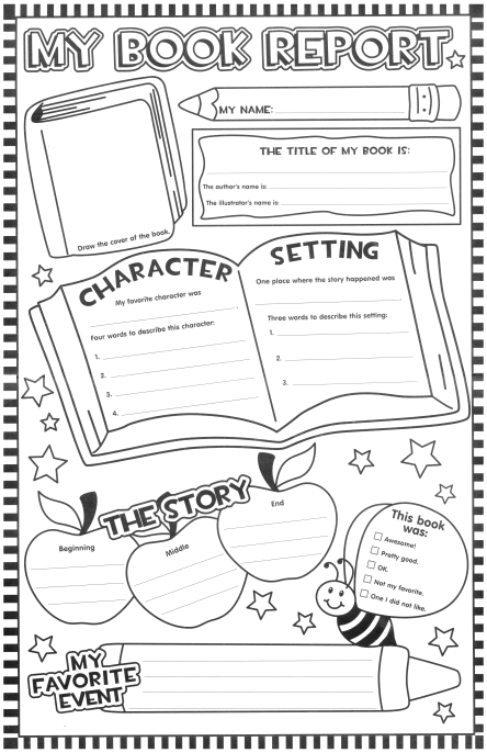 state report booklet set of worksheets Name of my state (use big, fancy, colorful letters) super teacher worksheets tell where you found the information for this state report.