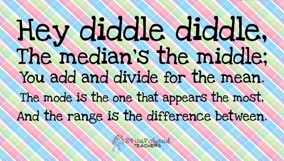 hey diddle diddle - math rhyme