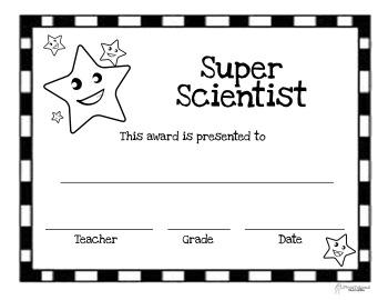 Super Scientist Award