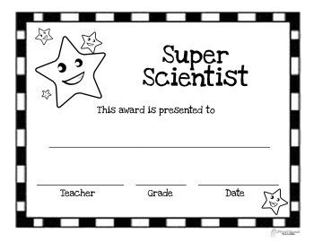 Super Scientist Award