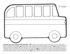 Back to School Bus Bulletin Board