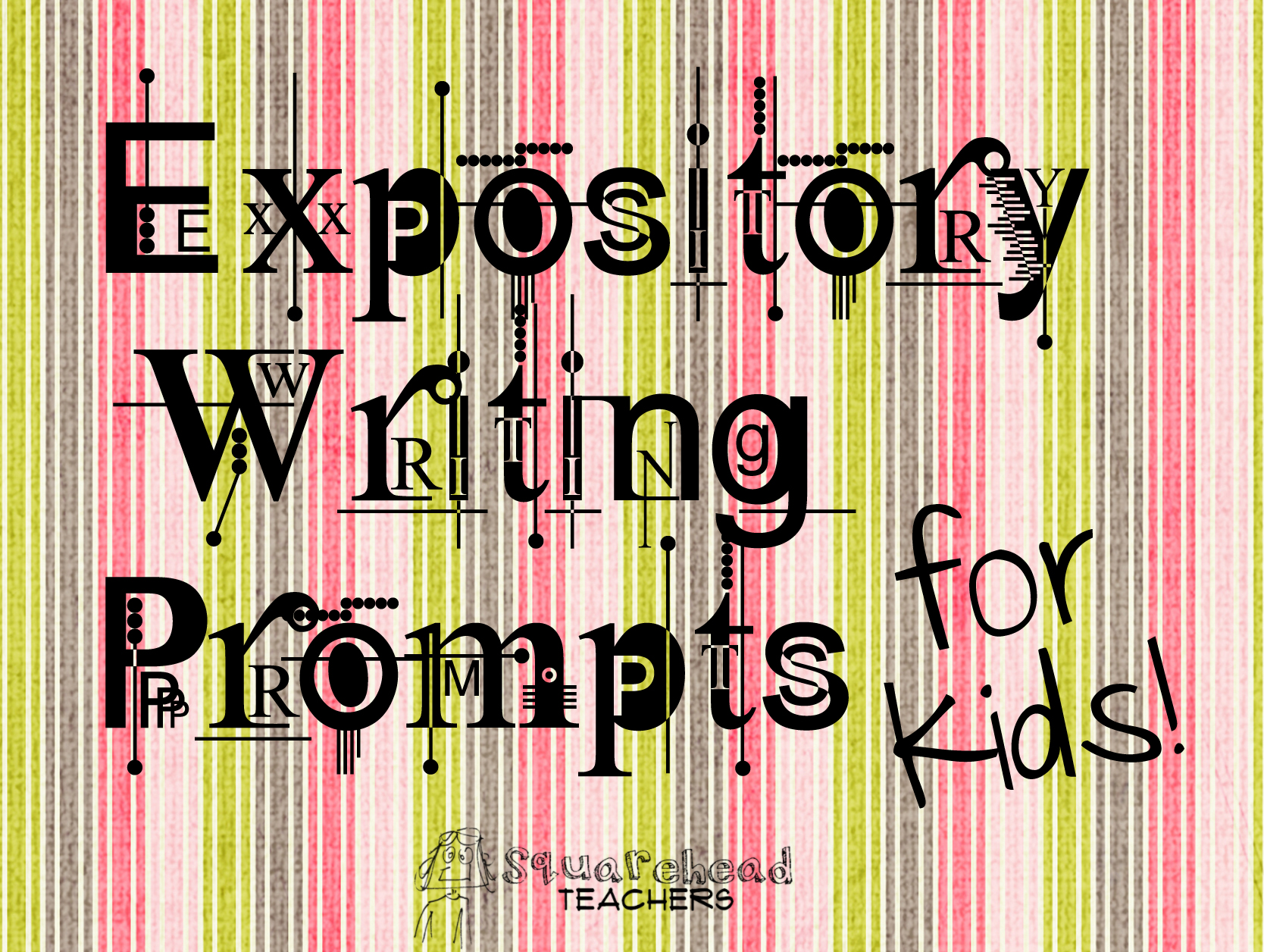Expository writing assignments