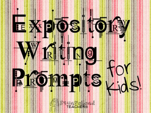 expository writing prompts for kids Second grade: writing sample 5 second graders are polishing a wide range of basic writing skills, including writing legibly, using capitalization and punctuation correctly (most of the time), and moving from invented spelling to more accurate spelling.