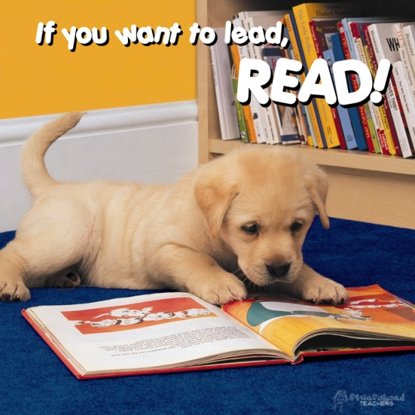 If you want to lead READ poster