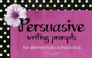 pers. writing prompts for elem kids
