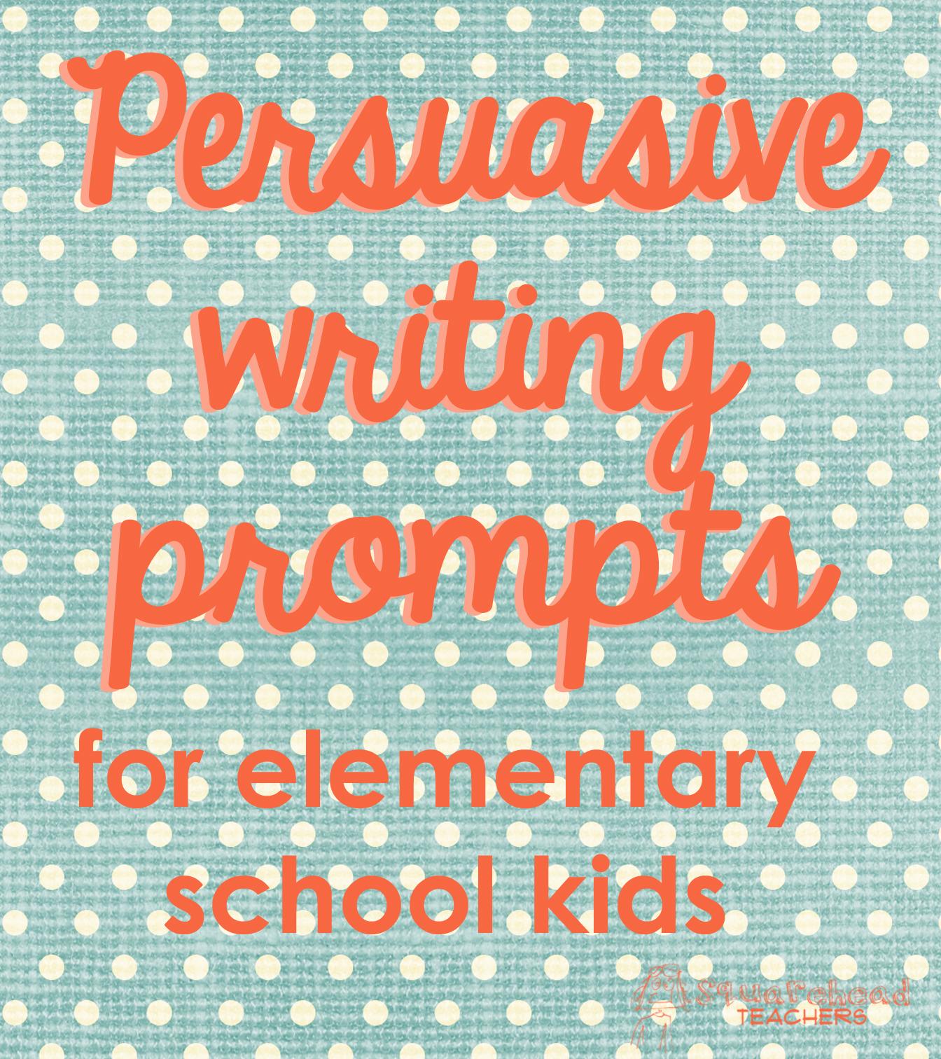 Persuasive essay prompt and reading