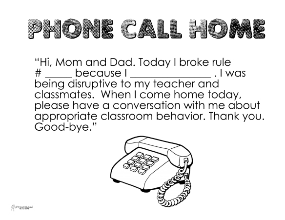 Phone call home
