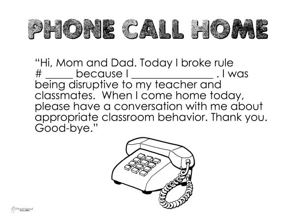 Phone call home